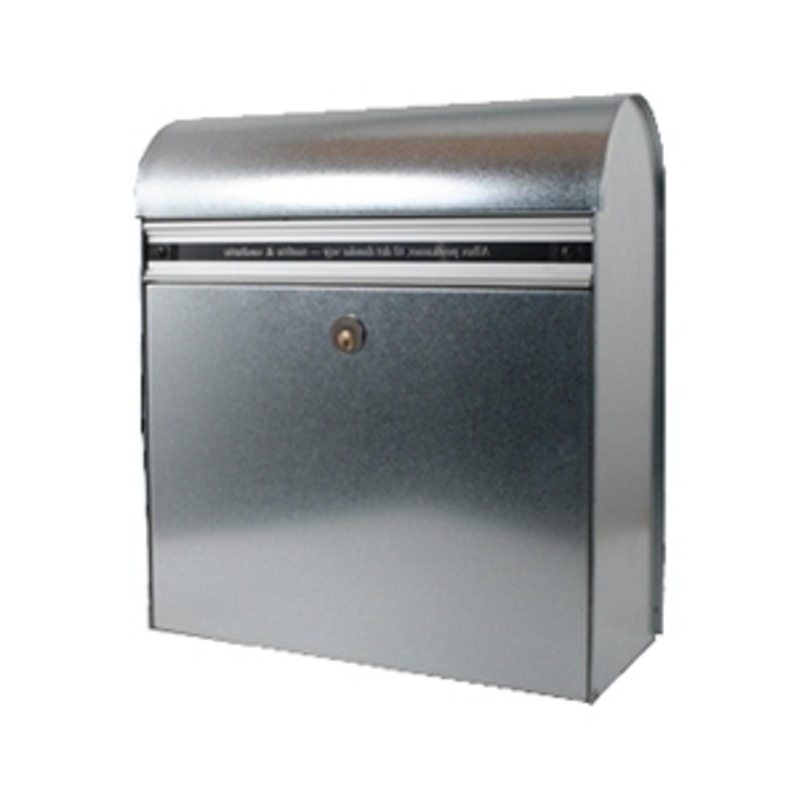 Robusta cassetta postale KS200, acciaio