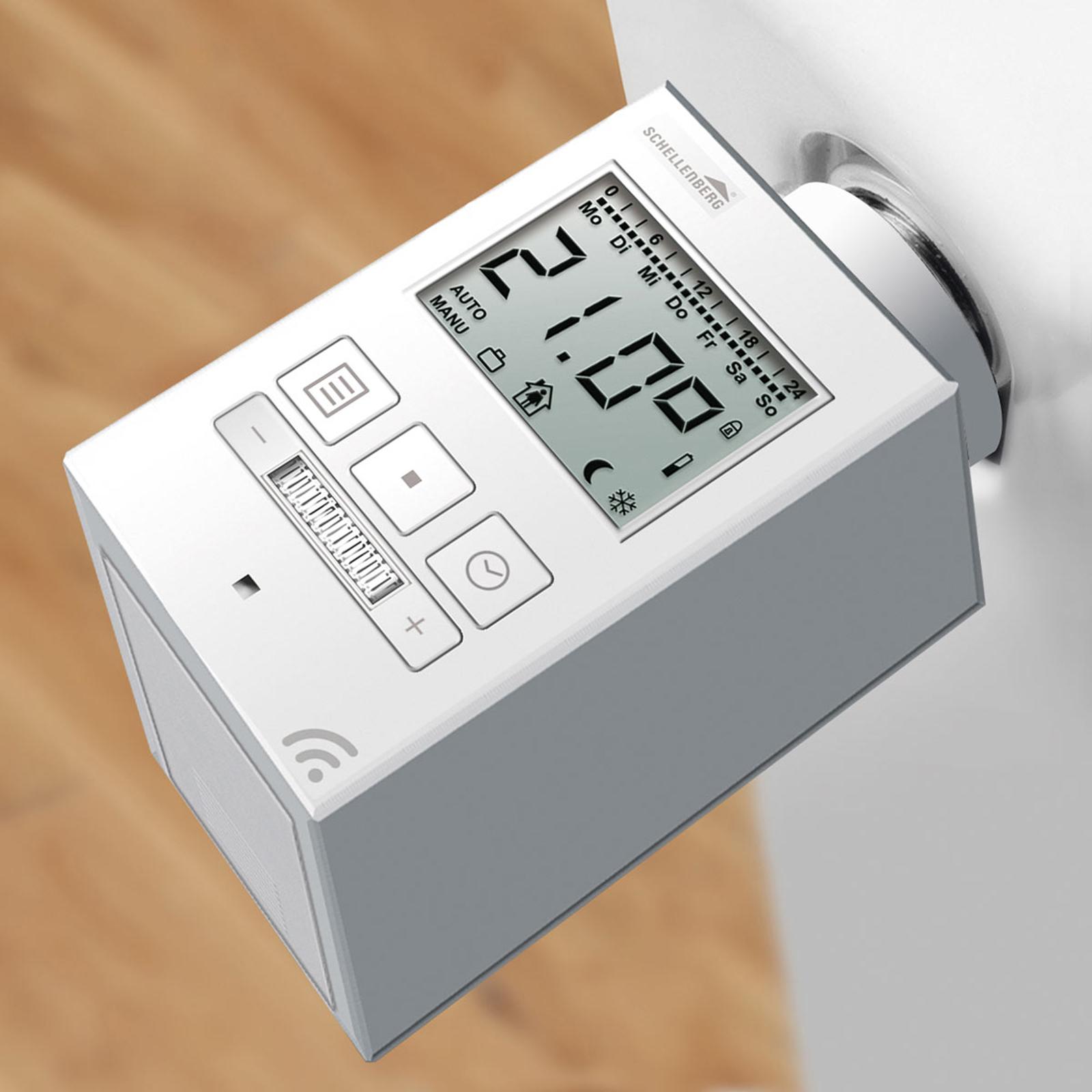 Schellenberg 21001 radio-radiatortermometer