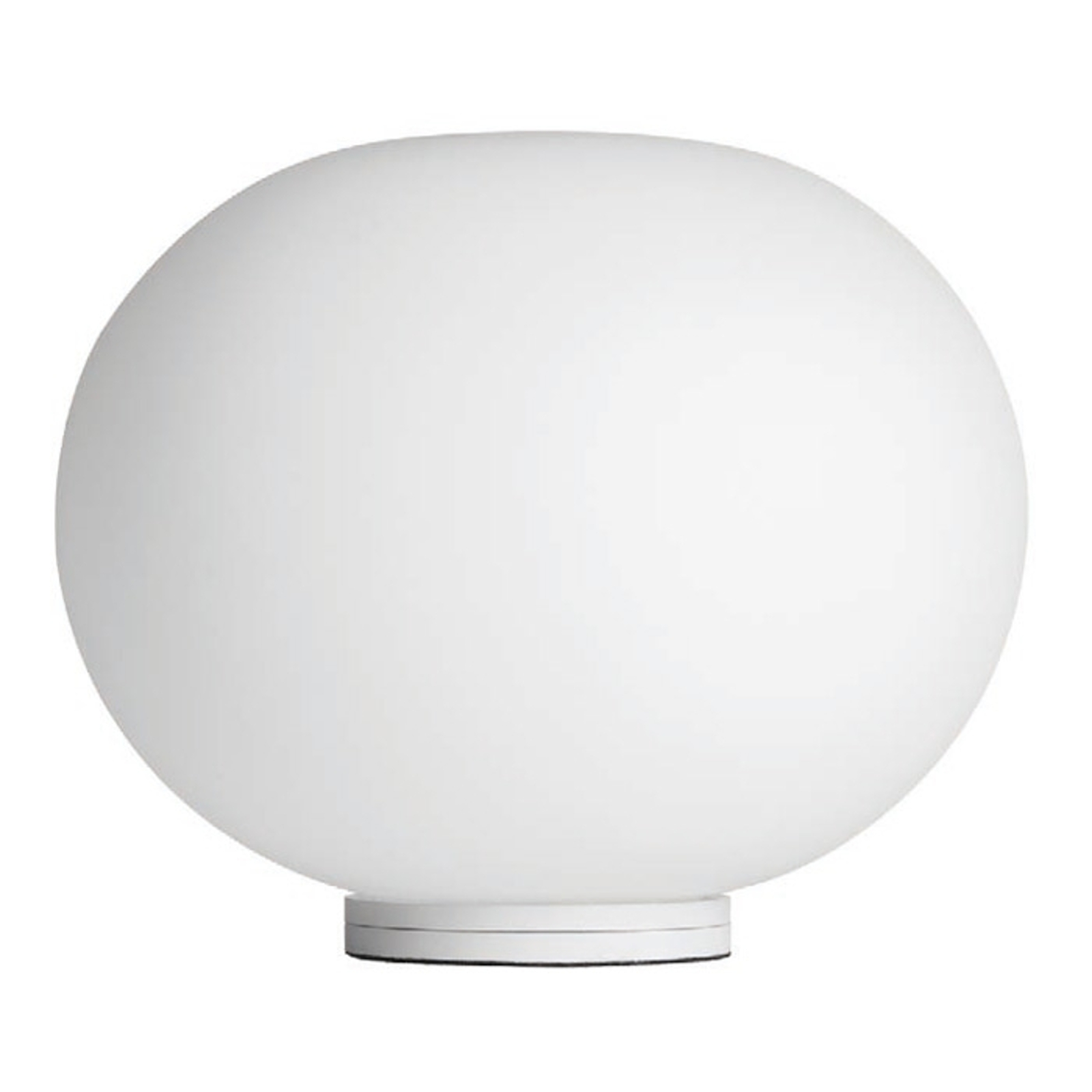 FLOS Glo-Ball Basic Zero - weiße Tischleuchte