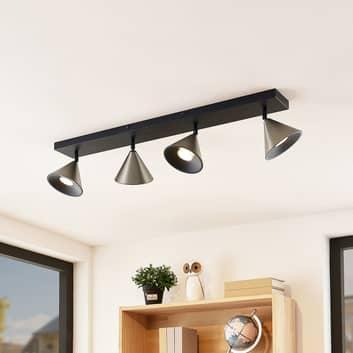 Lucande Kartio -kattovalaisin, 4-lamppuinen