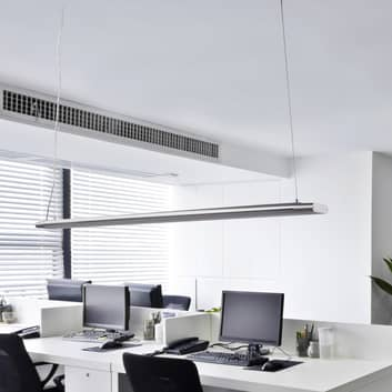 Lange pendellamp Vinca met krachtige LED's