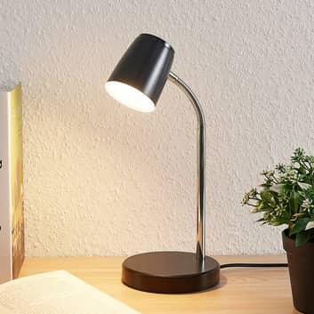 Lindby Jegor LED stolní lampa v černé