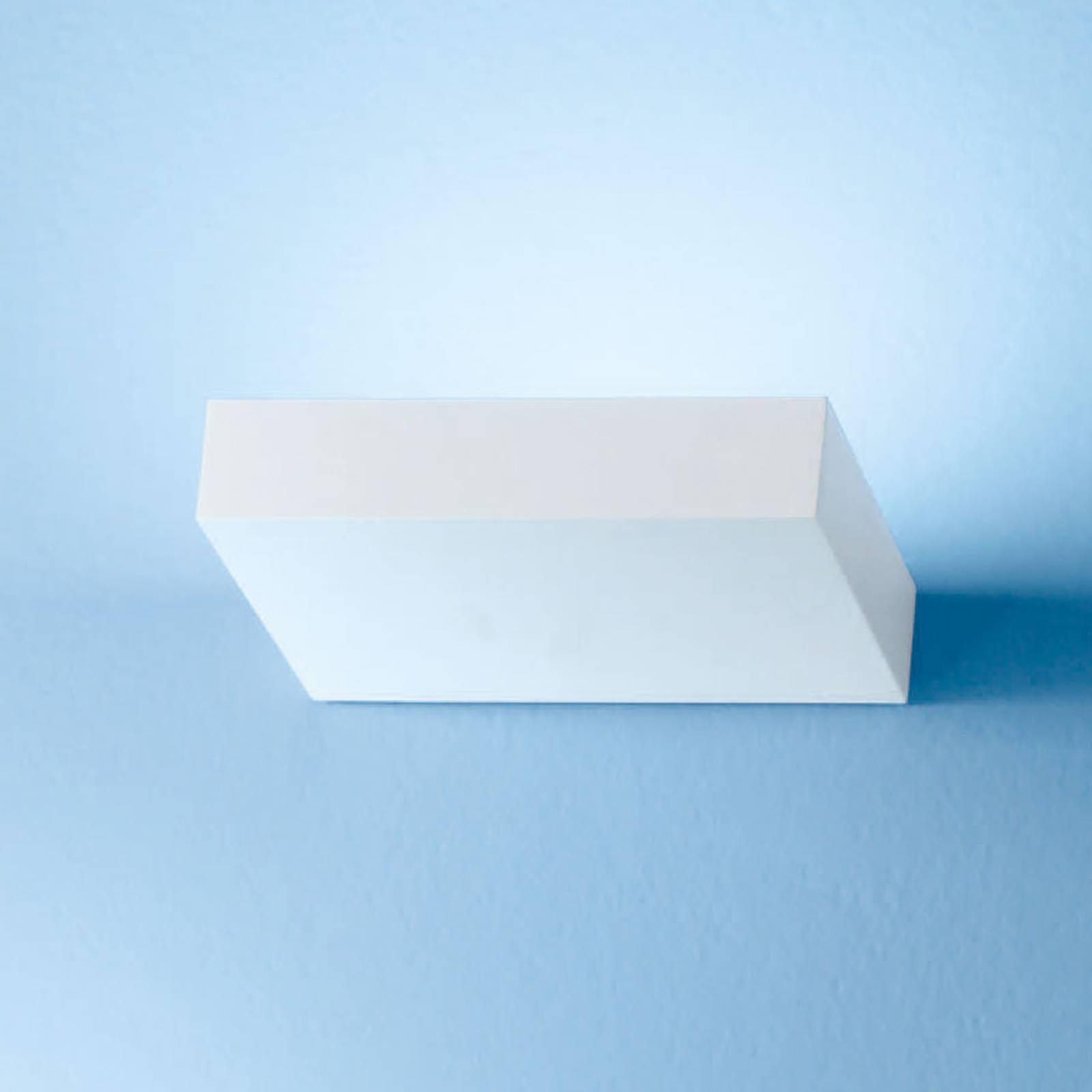 LED wandlamp Regolo, lengte 16,3 cm, wit