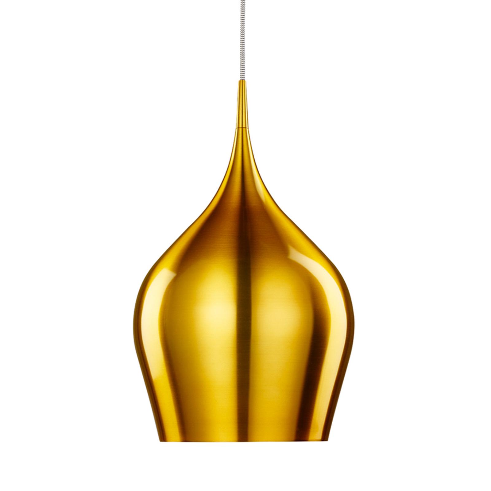 Suspension Vibrant scintillante couleur dorée