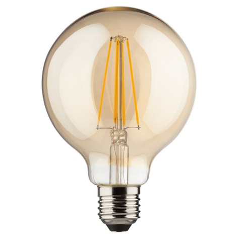 LED-Globe E27 8 W gold warmweiß 850 Lumen