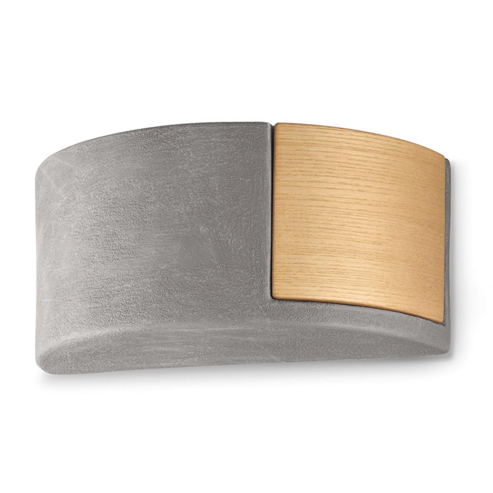 Scandinavische keramieken wandlamp C1795/27 cement