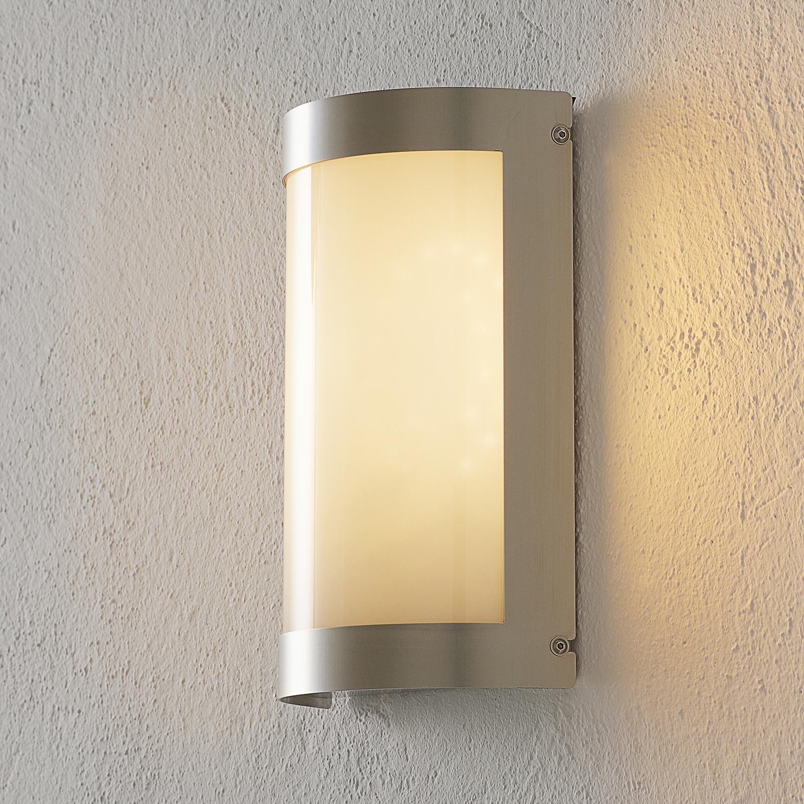 Aqua Marco LED-lampe med sensor, rustfrit stål
