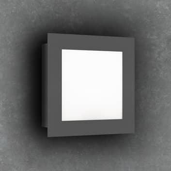 Aplique LED de exterior 3007LED, grafito