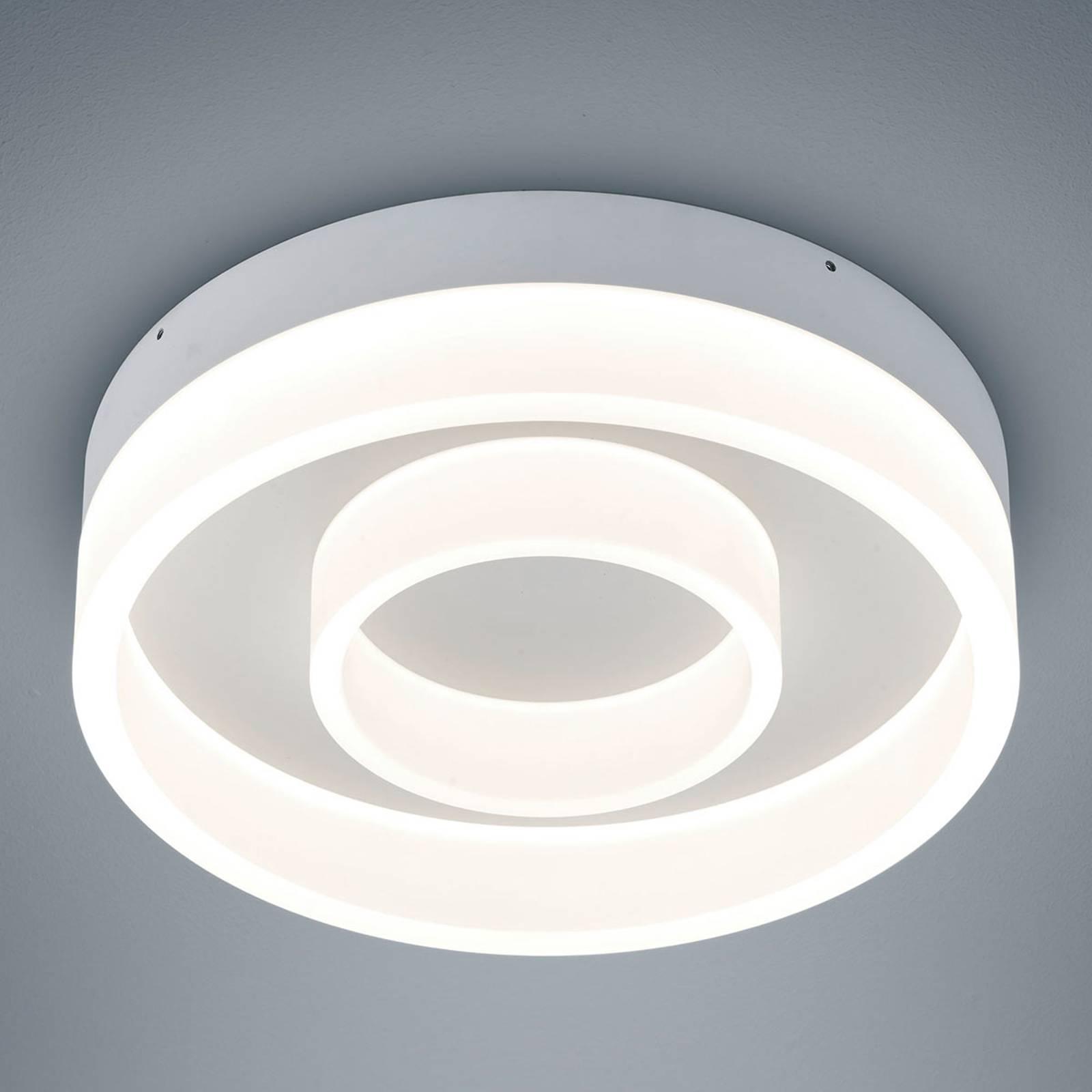 Helestra Liv – okrągła lampa sufitowa LED, 30cm