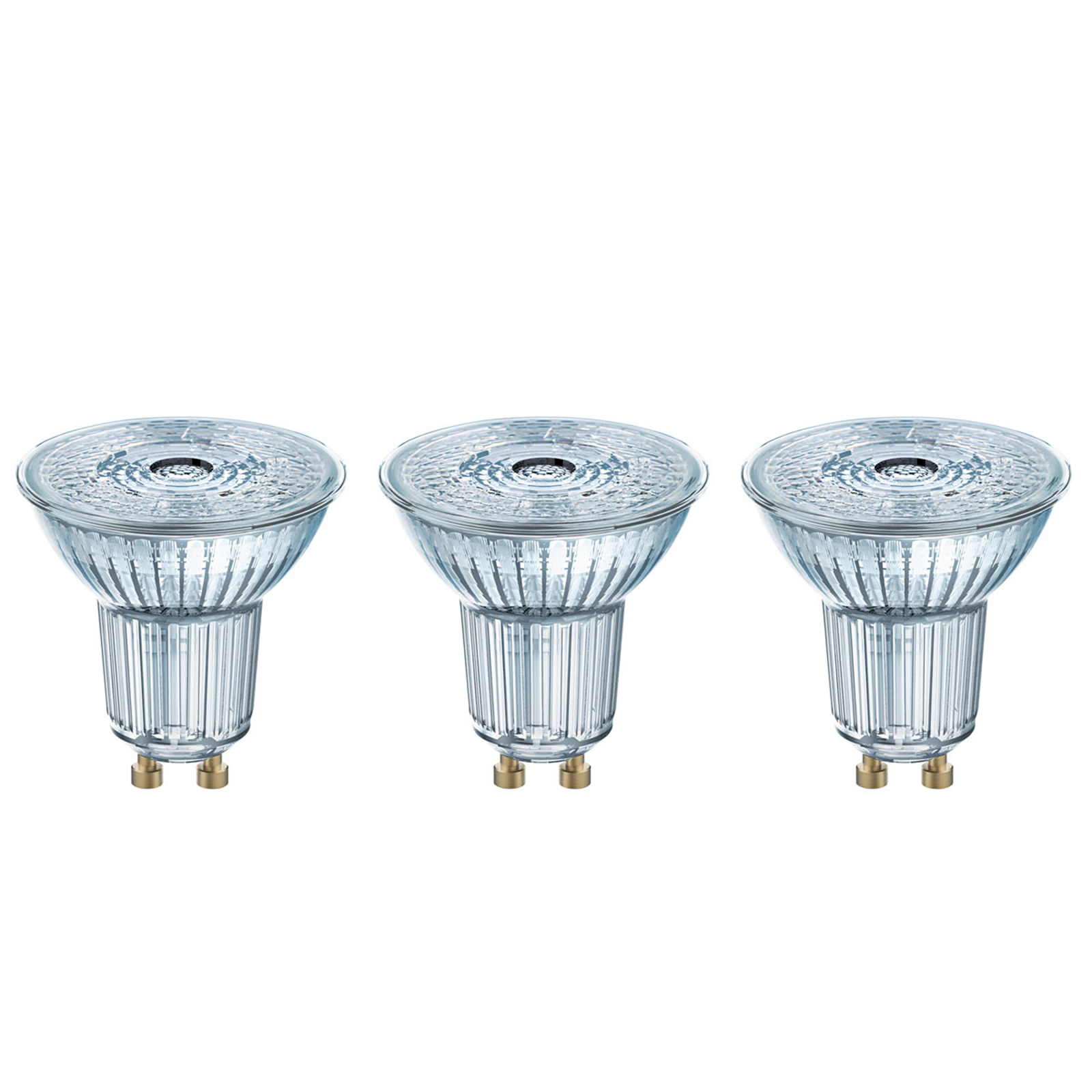 Réflecteur LED GU10 4,3W, blanc neutre, kit de 3