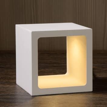 Kubformad LED-bordslampa Xio