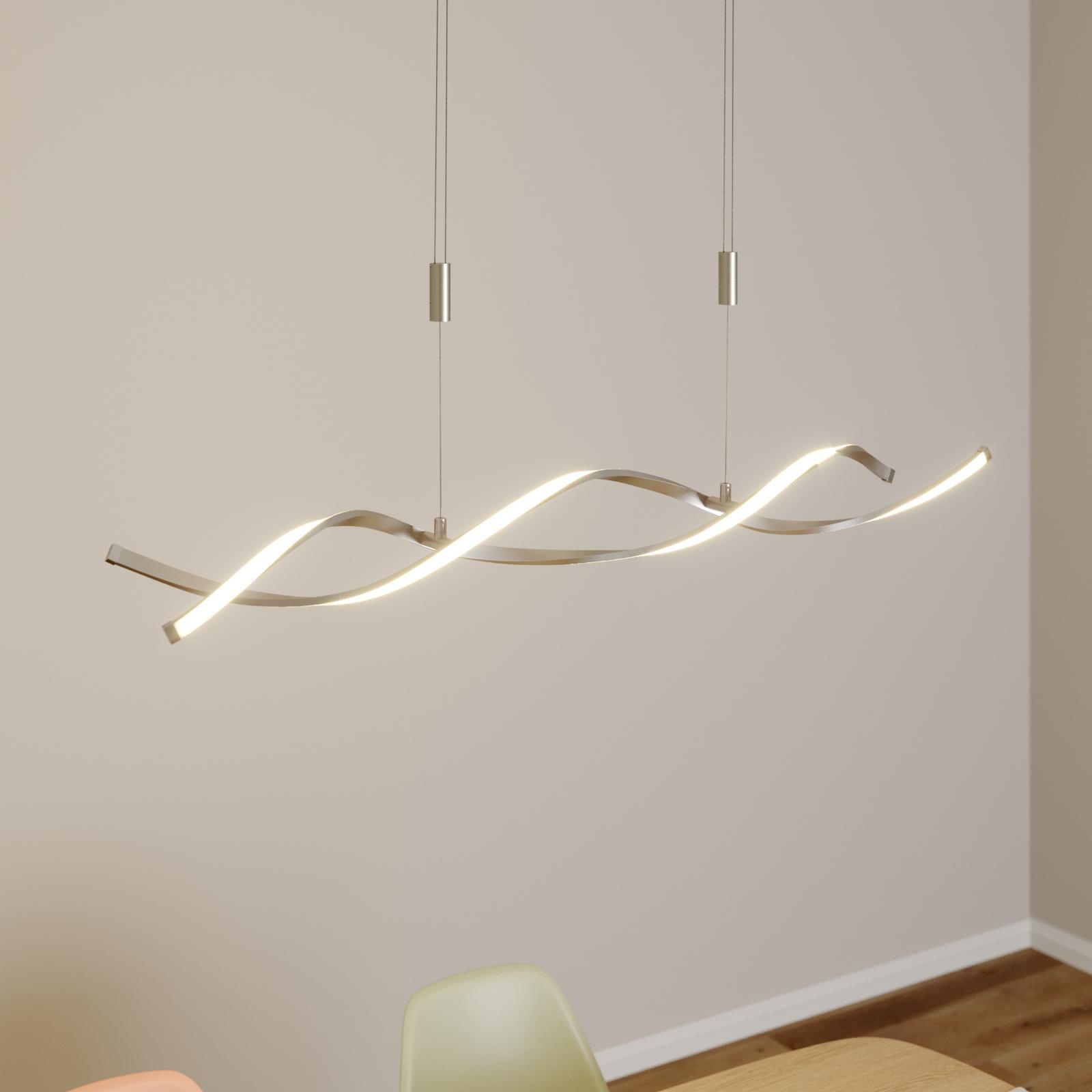 Lampada LED a sospensione Auron altezza regolabile