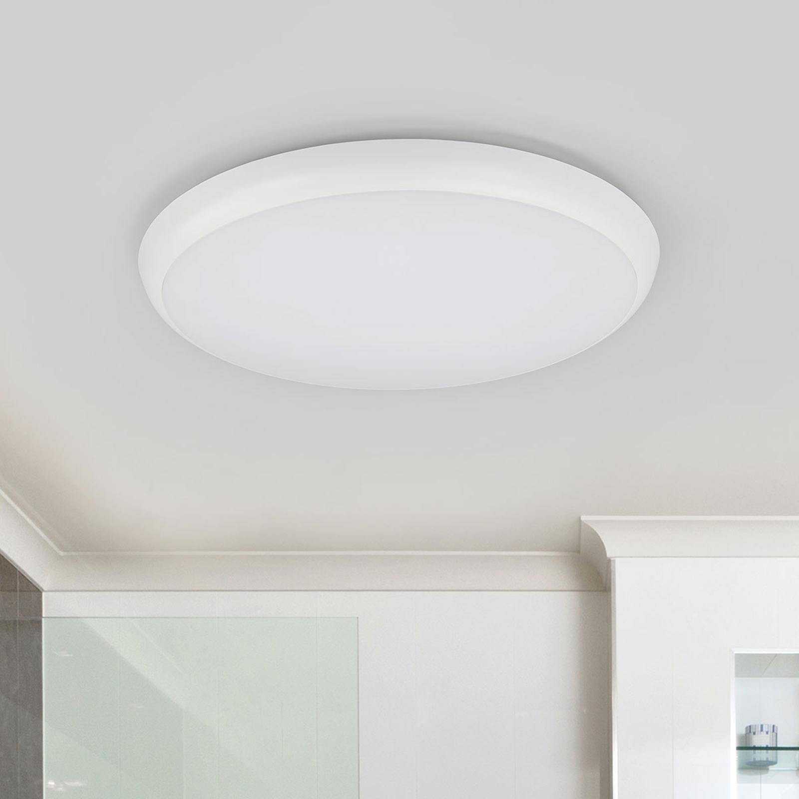 Plafonnier LED Augustin de forme ronde, 40 cm
