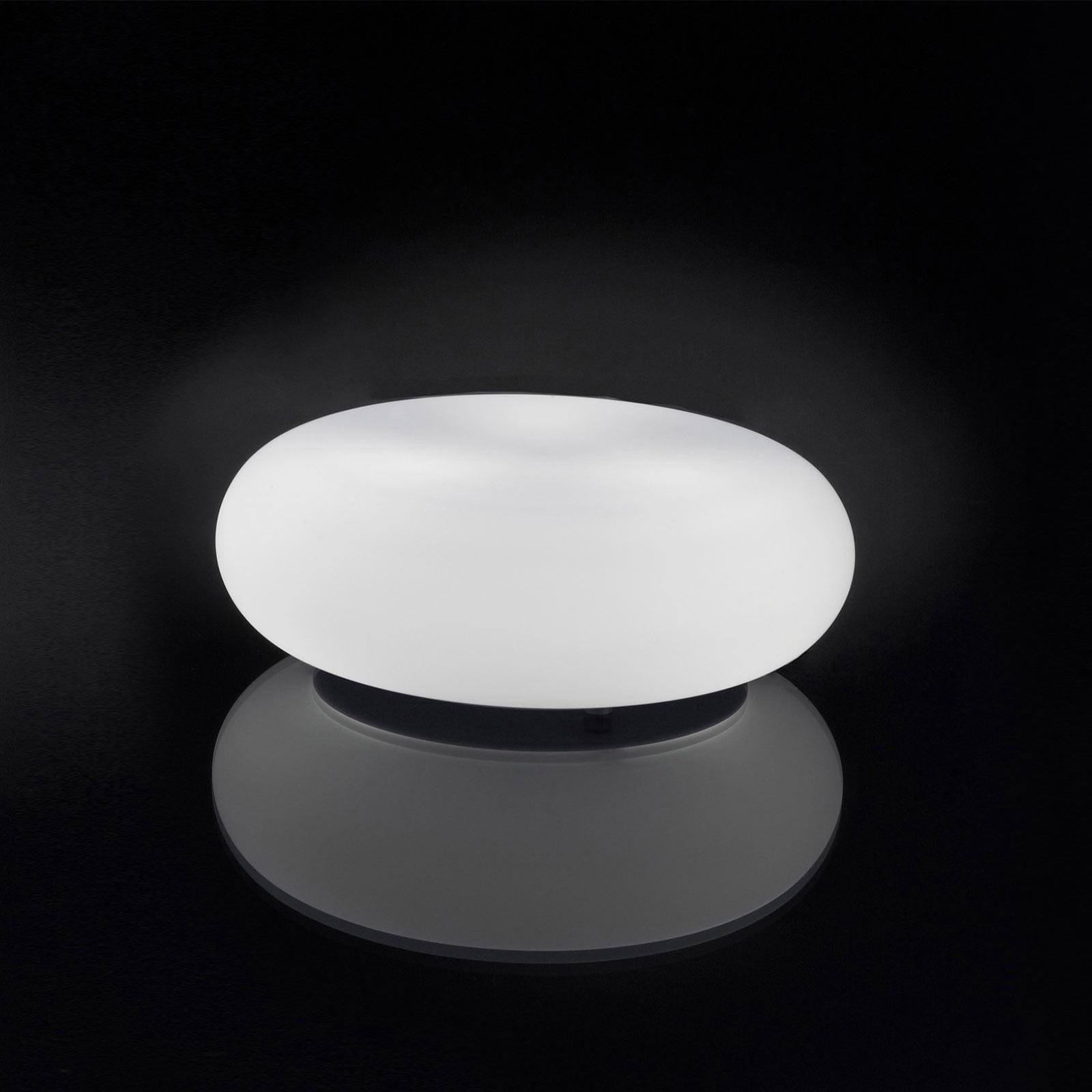 Artemide Itka Tischleuchte mit Glasschirm Ø 20 cm