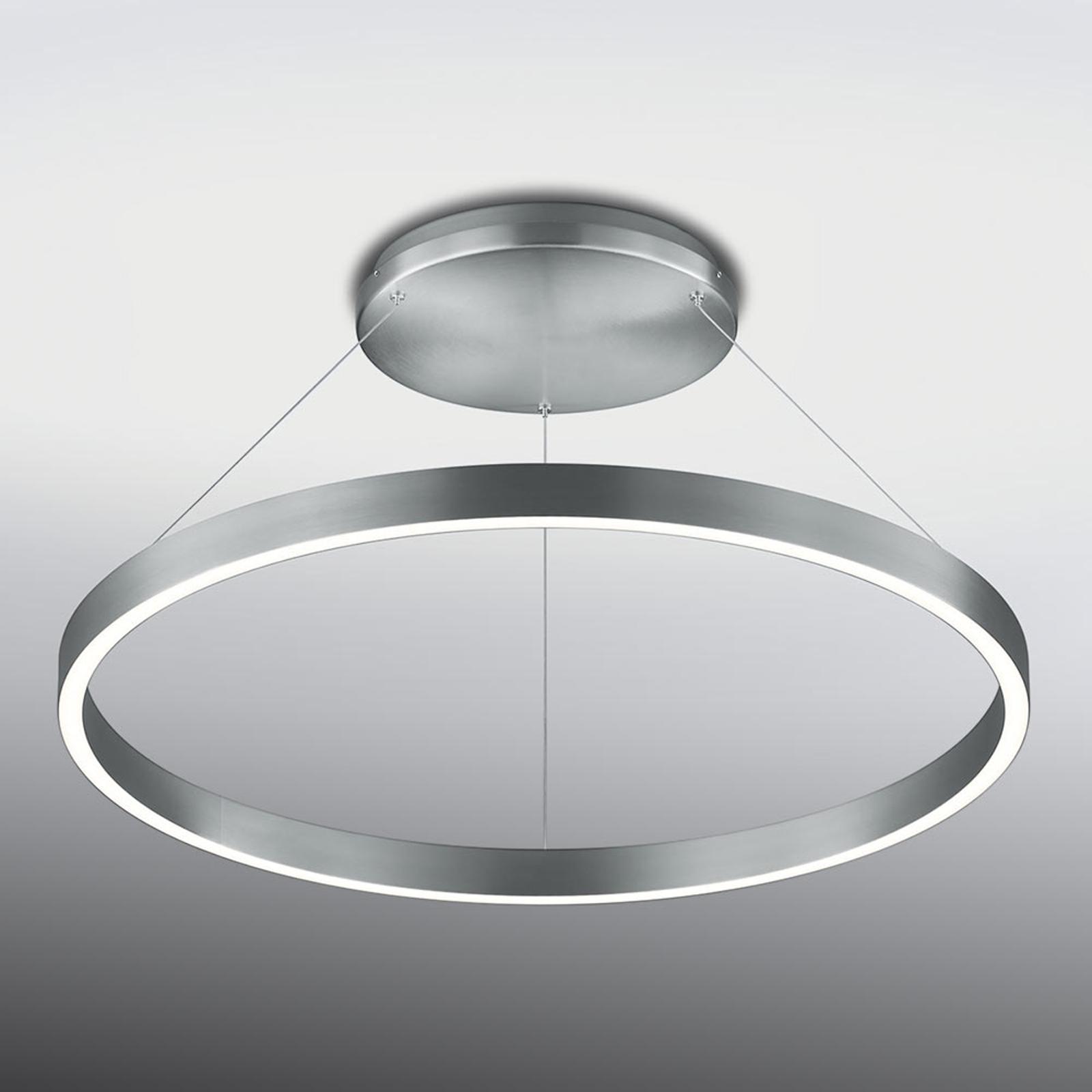 Lampa sufitowa LED Circle, pierścień, ściemniana