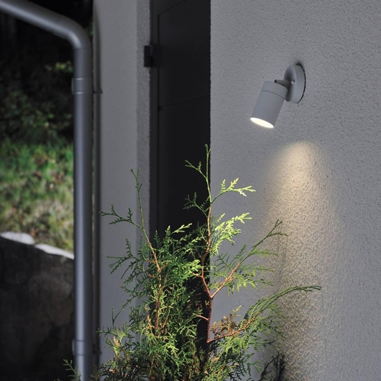 Zewnętrzna lampa ścienna New Modena, szary