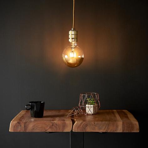 Lampa wisząca LED Chicago, złote wykończenie