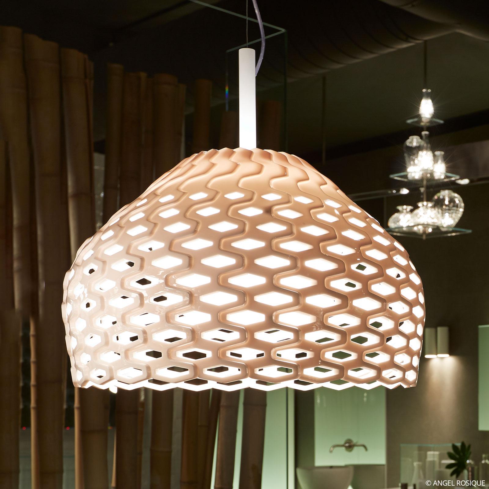FLOS Tatou S2 hængelampe, hvid