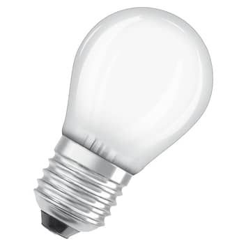 OSRAM LED-dråbepære E27 2,8W 827, dæmpbar