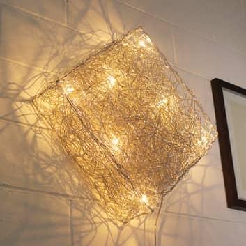 Nelikulmainen Quadro-seinävalaisin 48 cm x 48 cm