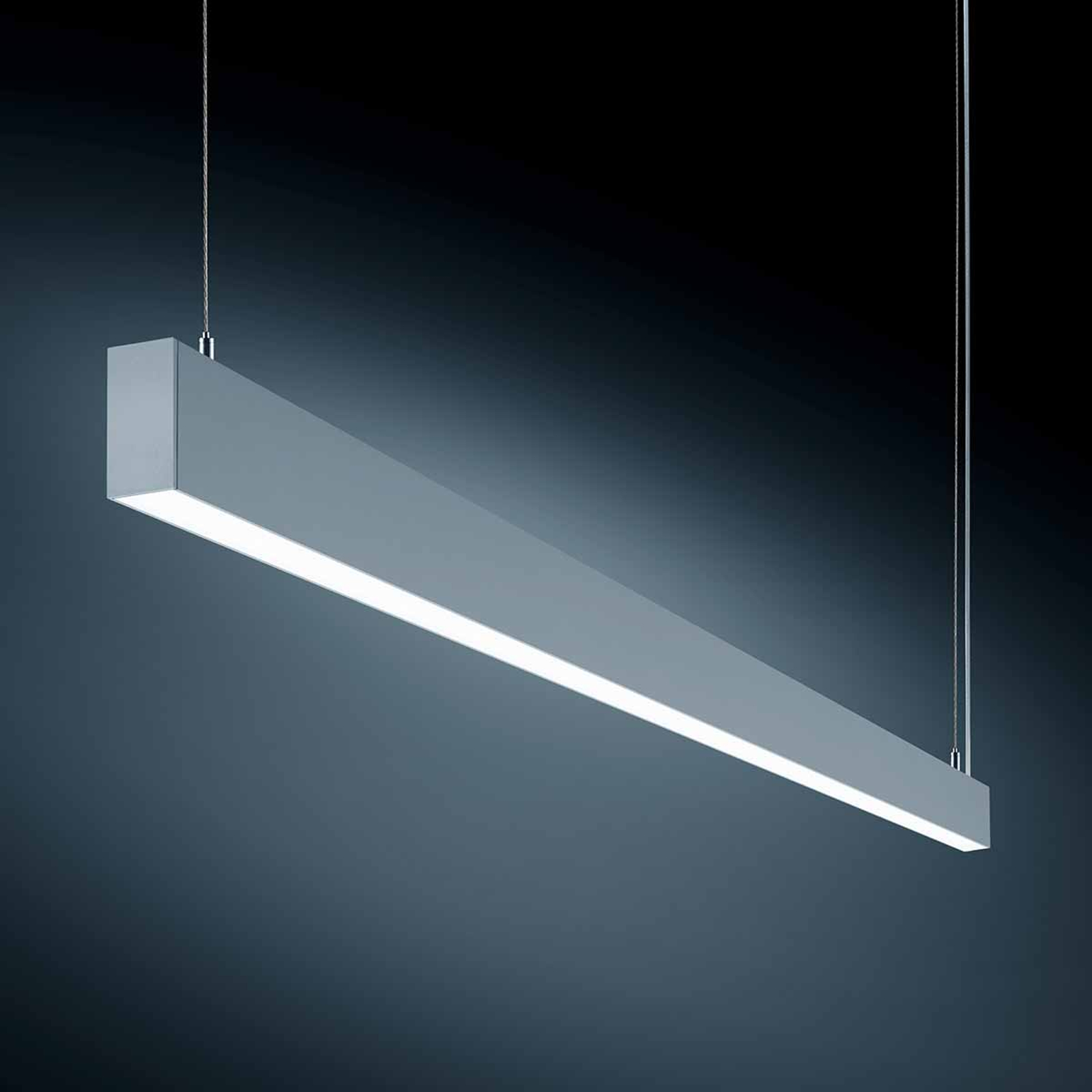 Mocna lampa wisząca LED S55 do biura