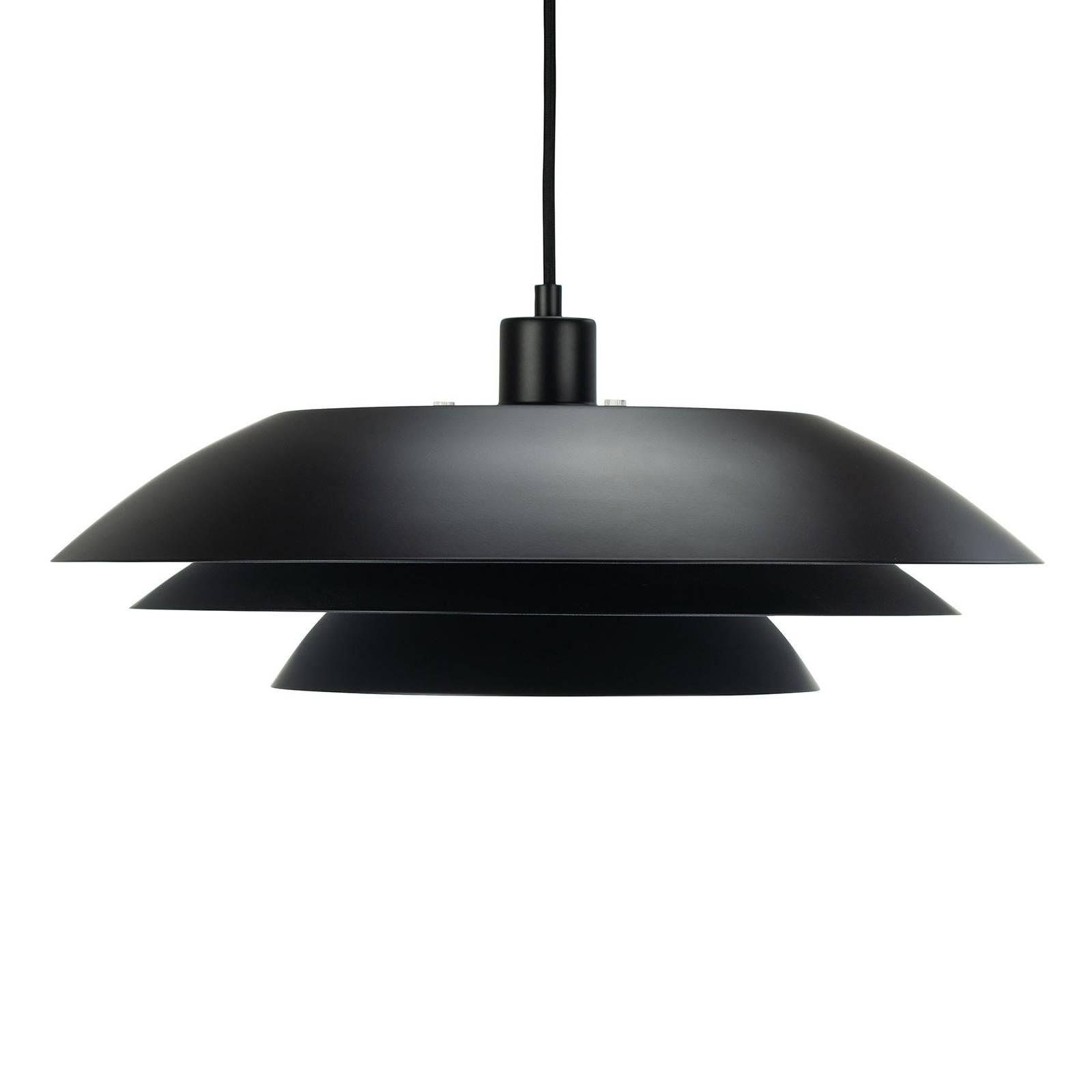 Dyberg Larsen DL45 Hängelampe, Ø 45cm, schwarz