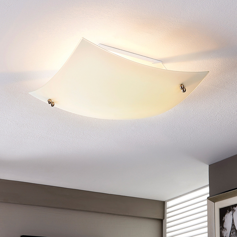 Buet loftslampe Vinzent, E27 LED