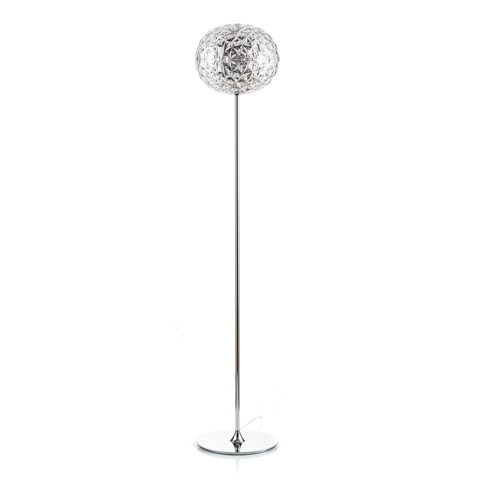 Kartell Planet LED-Stehleuchte 160cm kristallklar