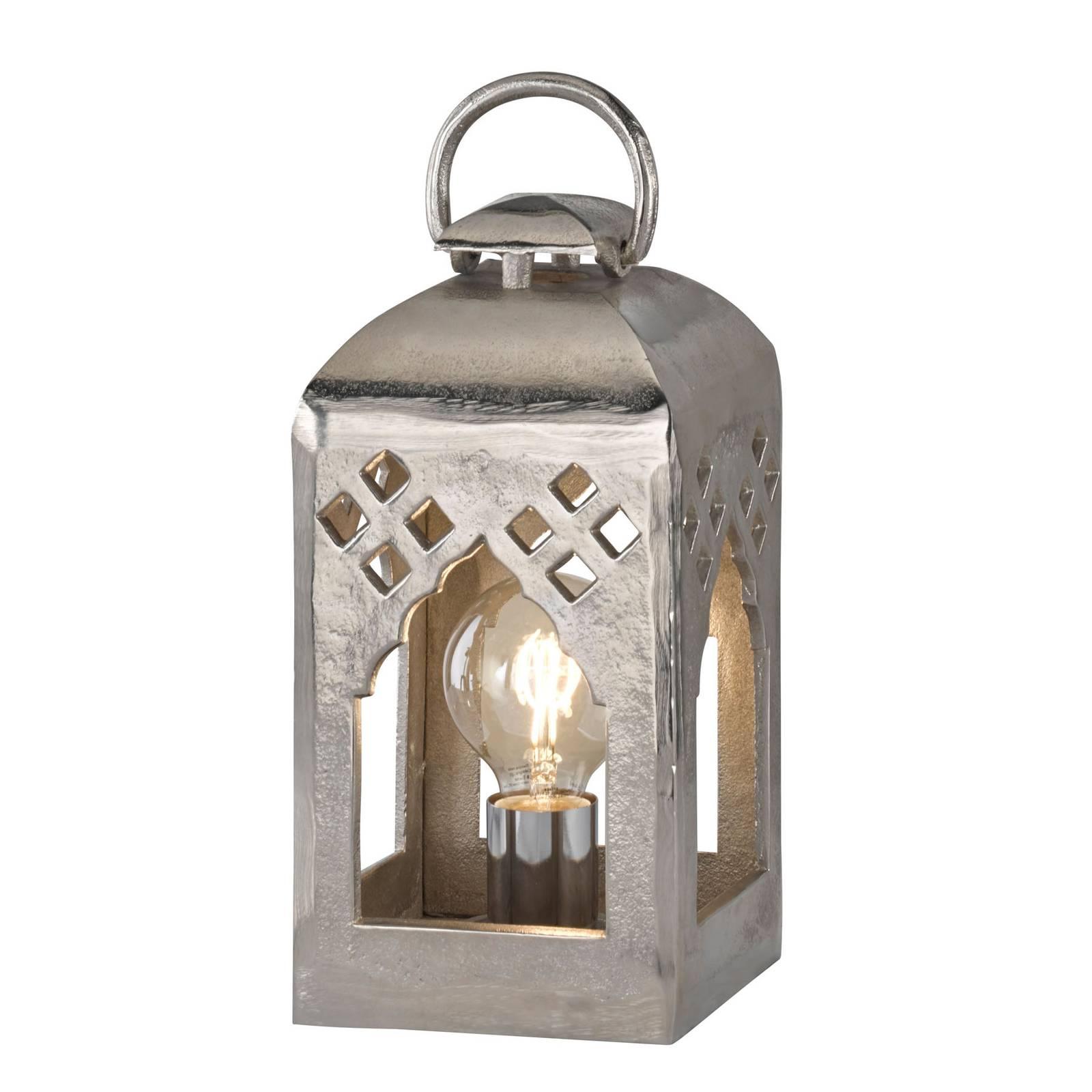 Lampe à poser lanterne Melis, hauteur 32cm
