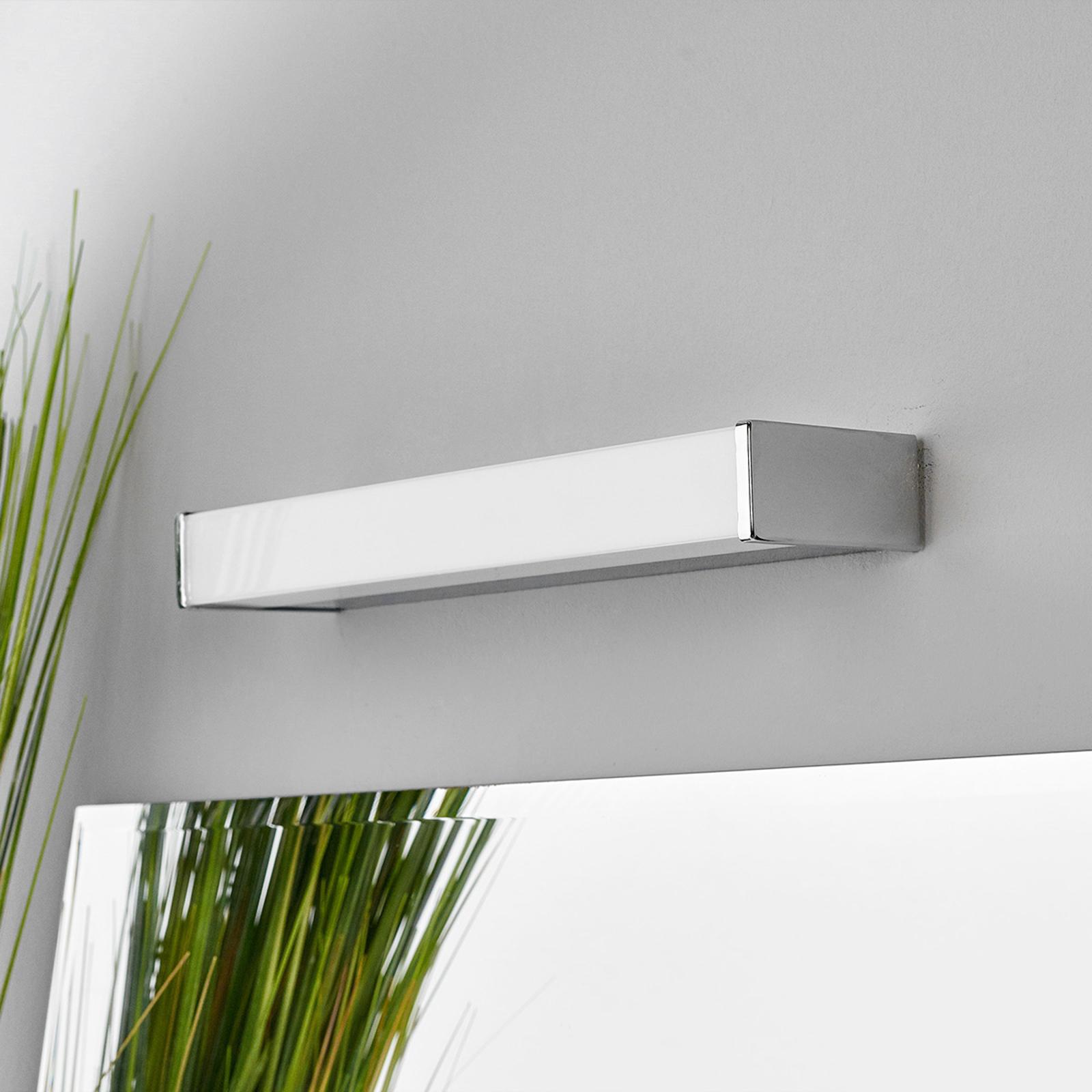 Applique miroir bain LED Philippa angulaire 32cm
