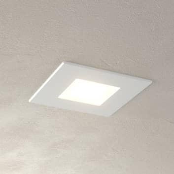 Vit, attraktiv LED-panel Klaus för inbyggnadsdosor