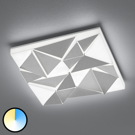 LED-Deckenleuchte Trinity, 40x40 cm