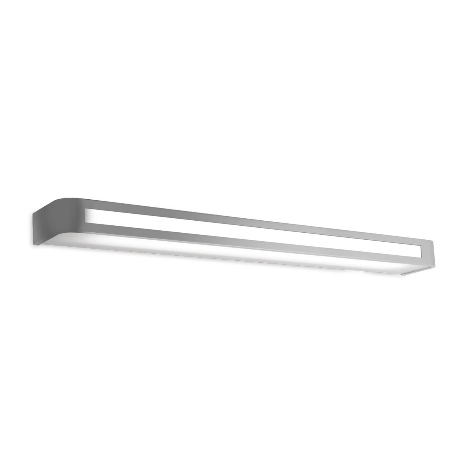 Tijdloze LED wandlamp Arcos, IP20 90 cm, chroom