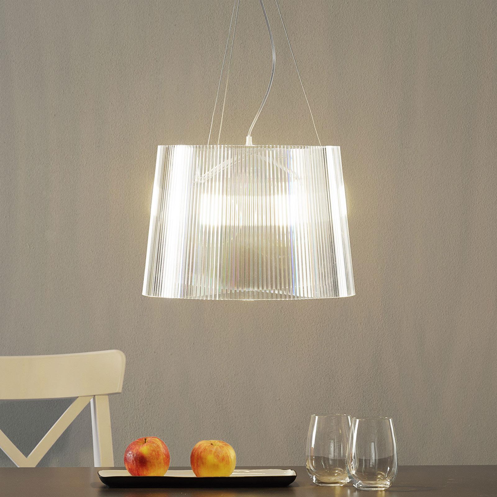 Transparante LED hanglamp Gè