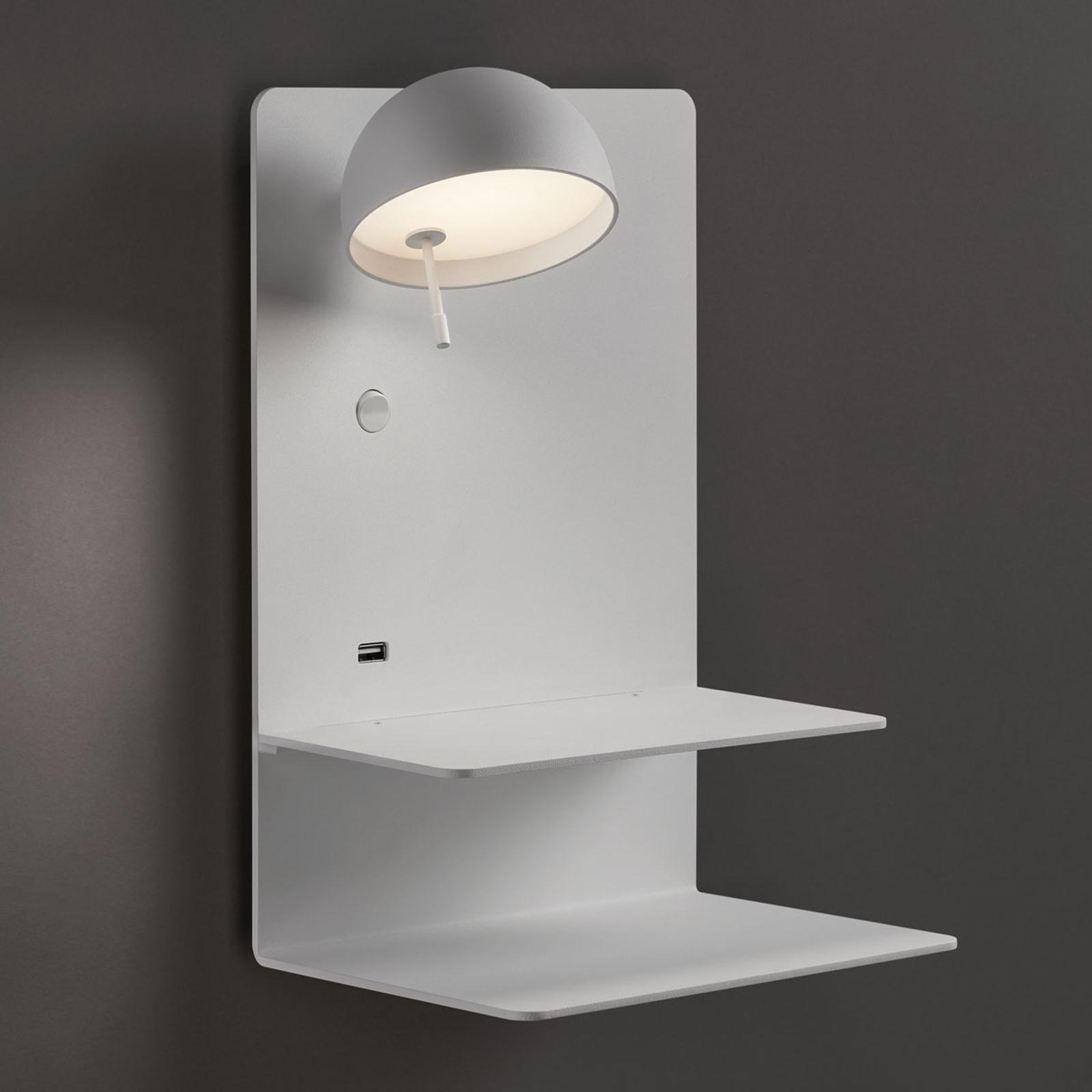 Bover Beddy A/04 applique LED blanc spot gauche