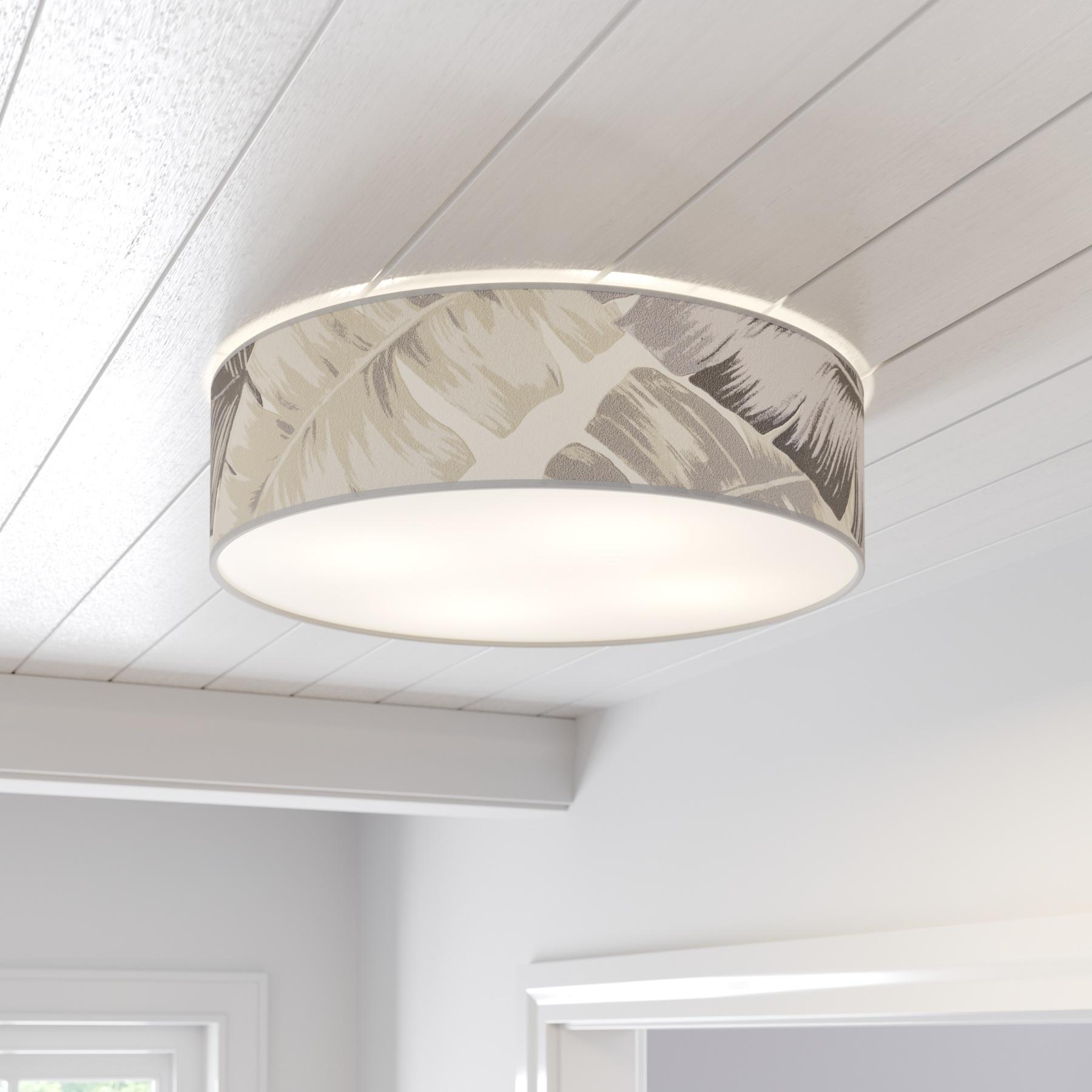 Lampa sufitowa Lobos z przesłoną okrągła Ø 58 cm