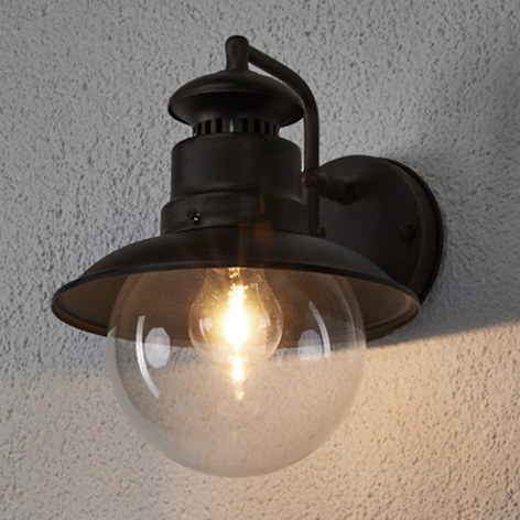 Rustikální venkovní nástěnné svítidlo Eddie, IP44