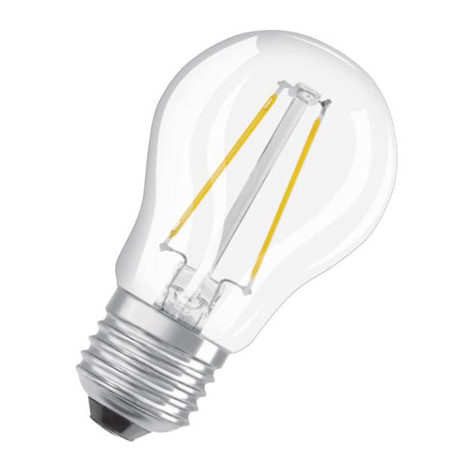 OSRAM Classic P LED-Lampe E27 4W 2.700K klar