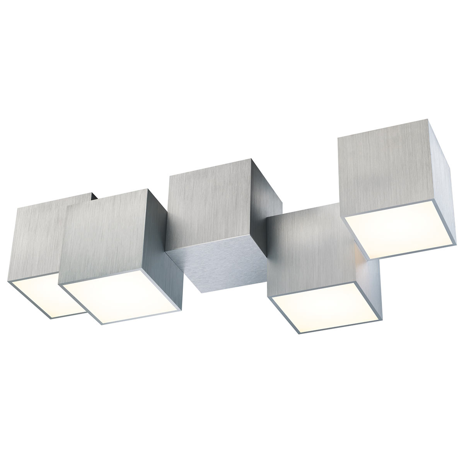 GROSSMANN Rocks LED-taklampe, 4 lyskilder