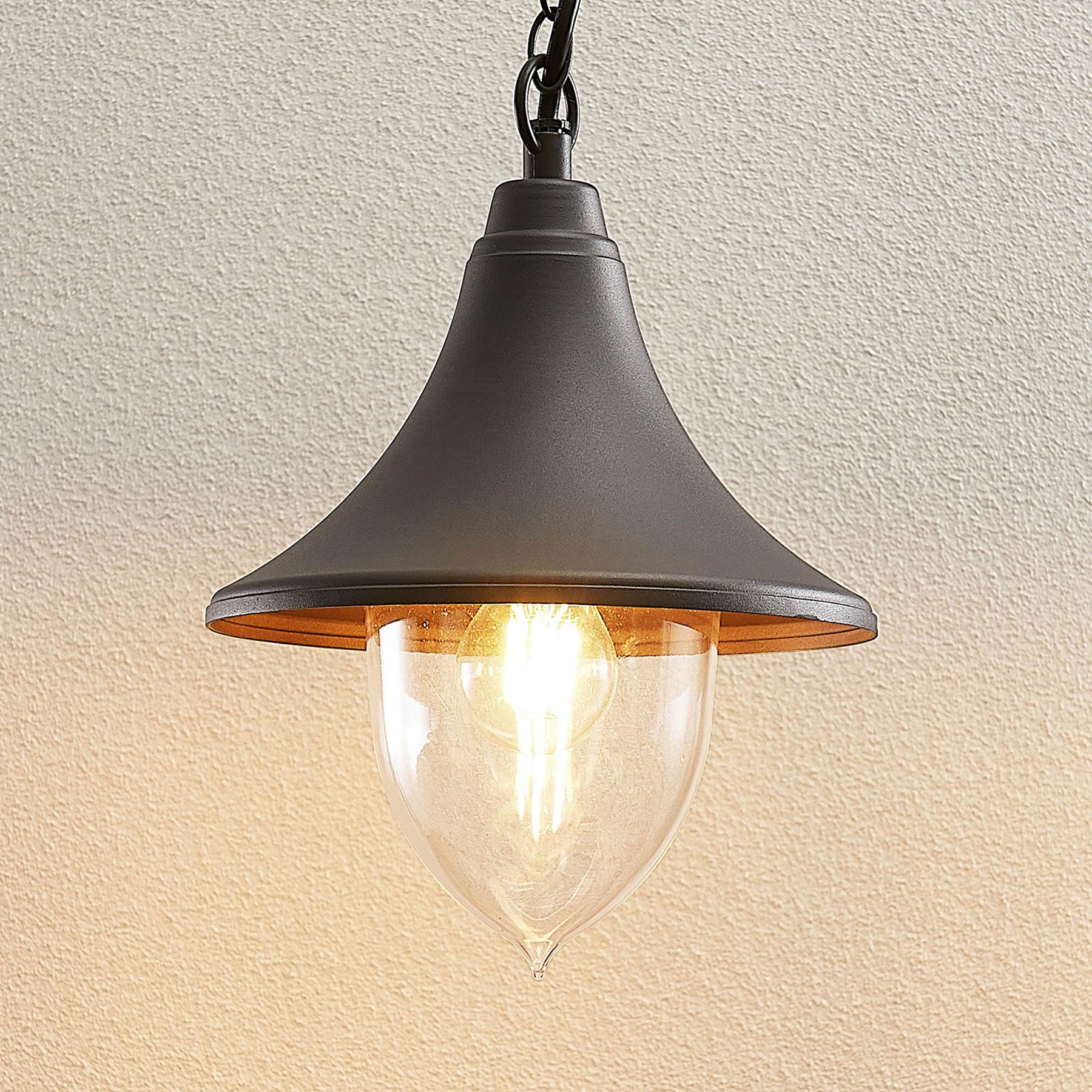 Lindby Edric lampa wisząca zewnętrzna