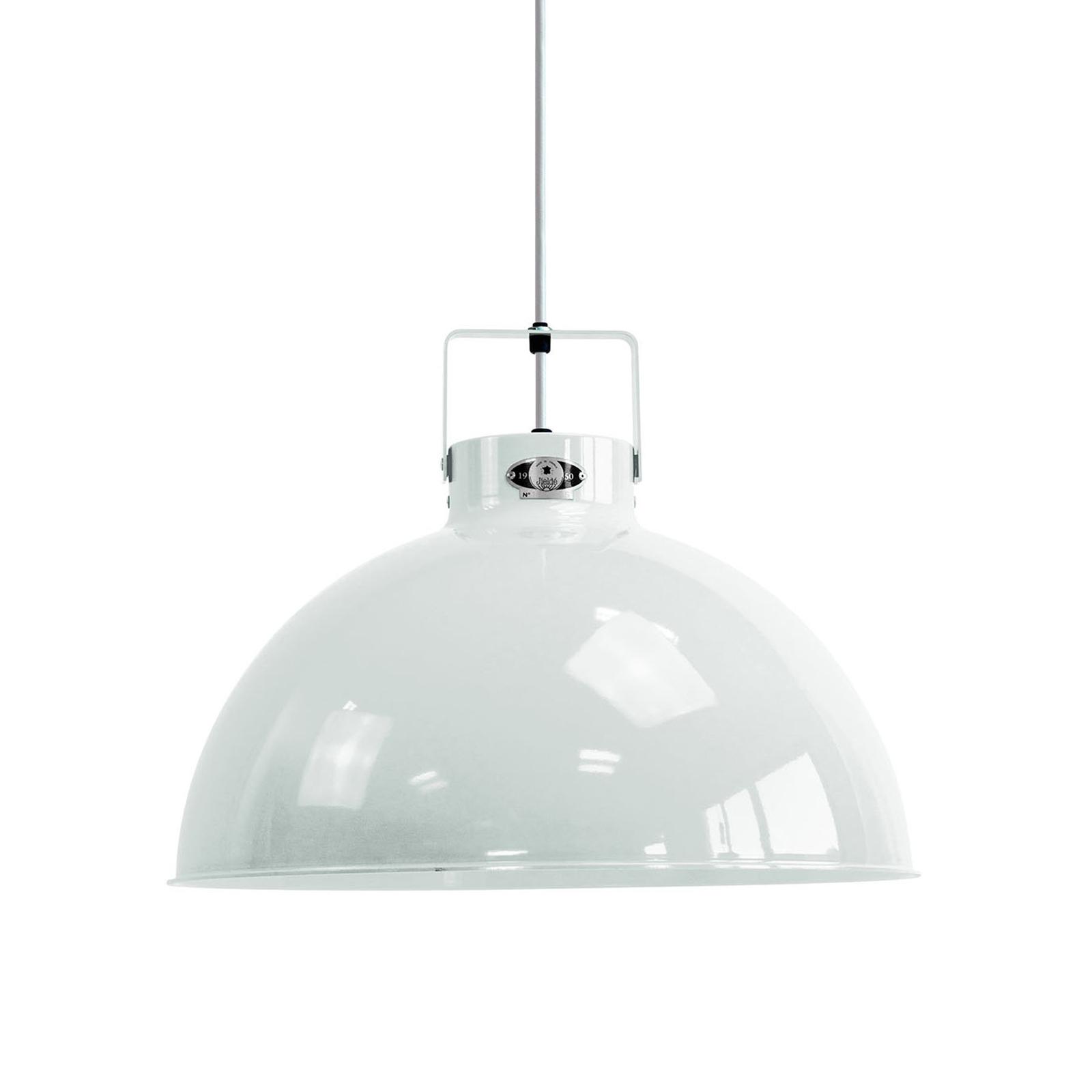 Jieldé Dante D450 hanglamp, wit, Ø 45 cm