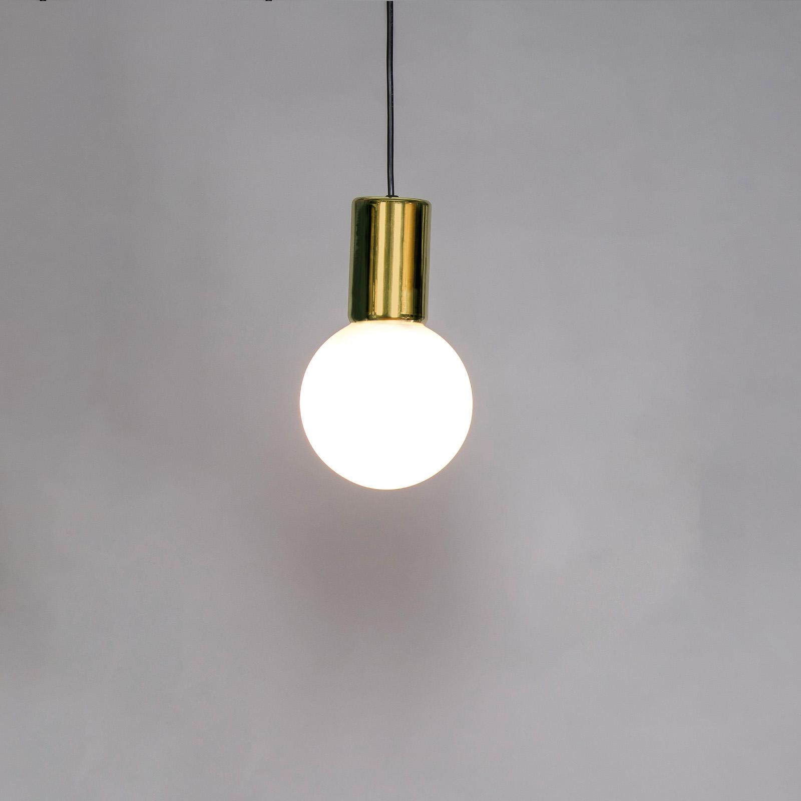 Innermost Purl LED-Hängeleuchte, messing