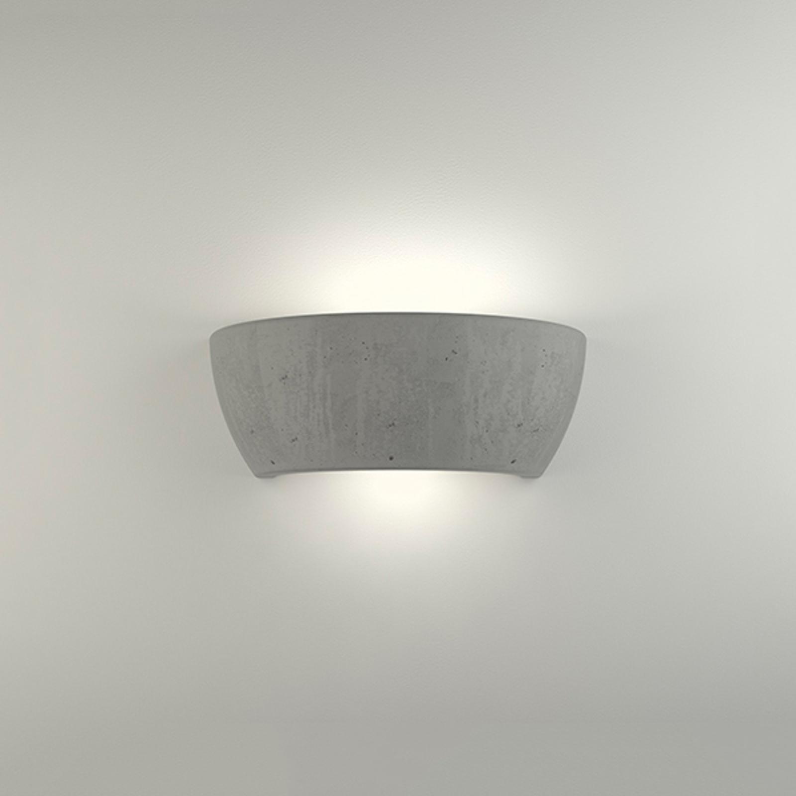 LED wandlamp 2457 beton 3.000 K niet dimbaar