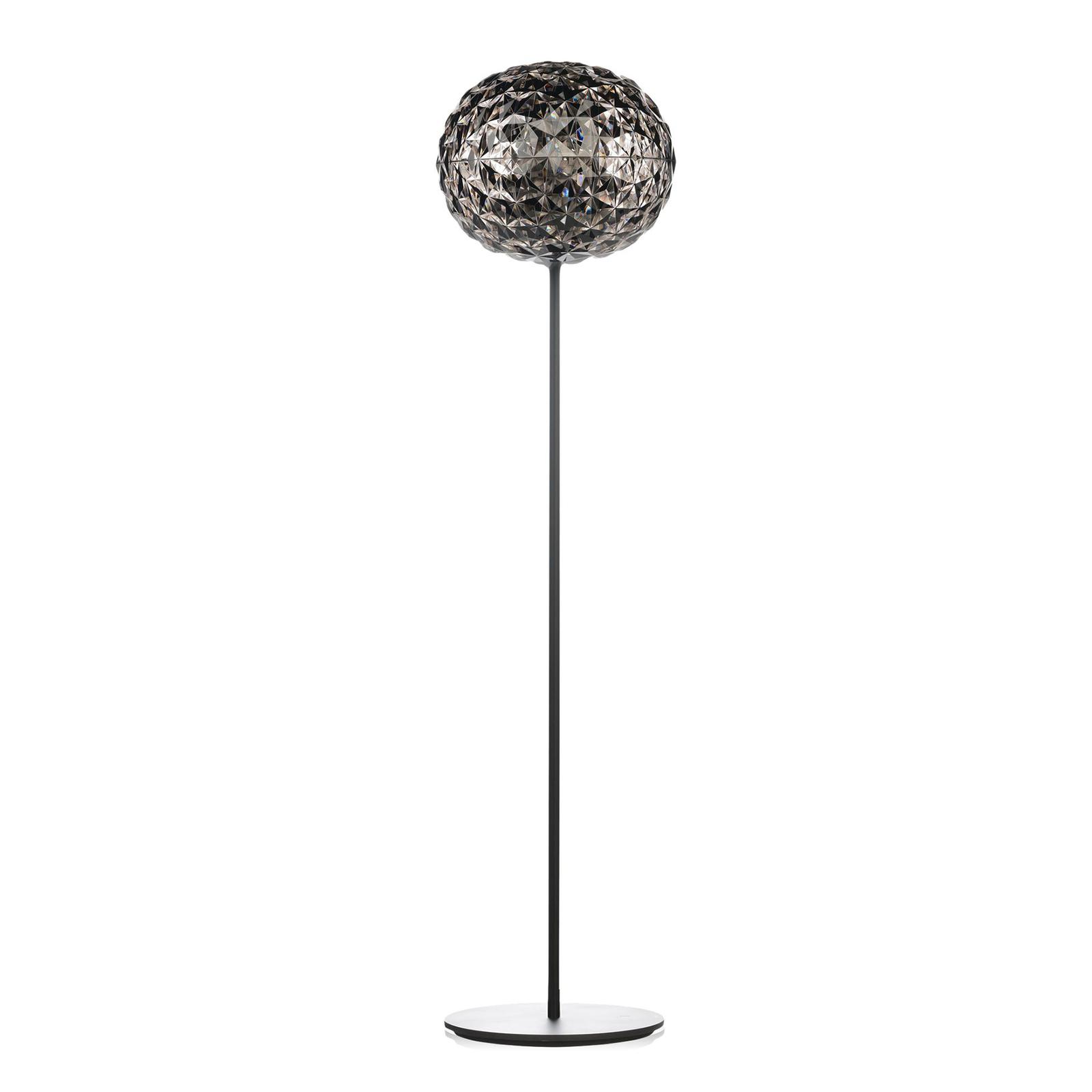 Kartell Planet LED-Stehleuchte 130cm rauchgrau