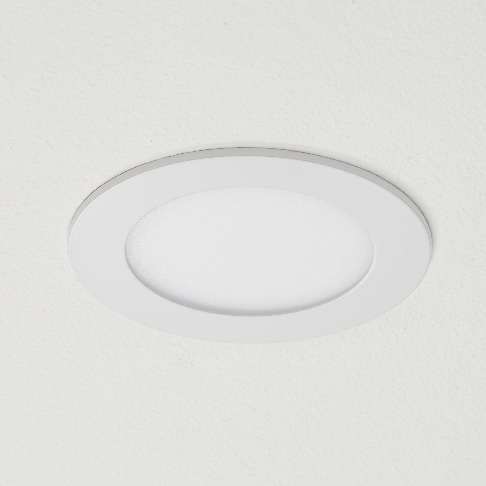 EGLO connect Fueva-C LED-Einbauleuchte weiß 12cm
