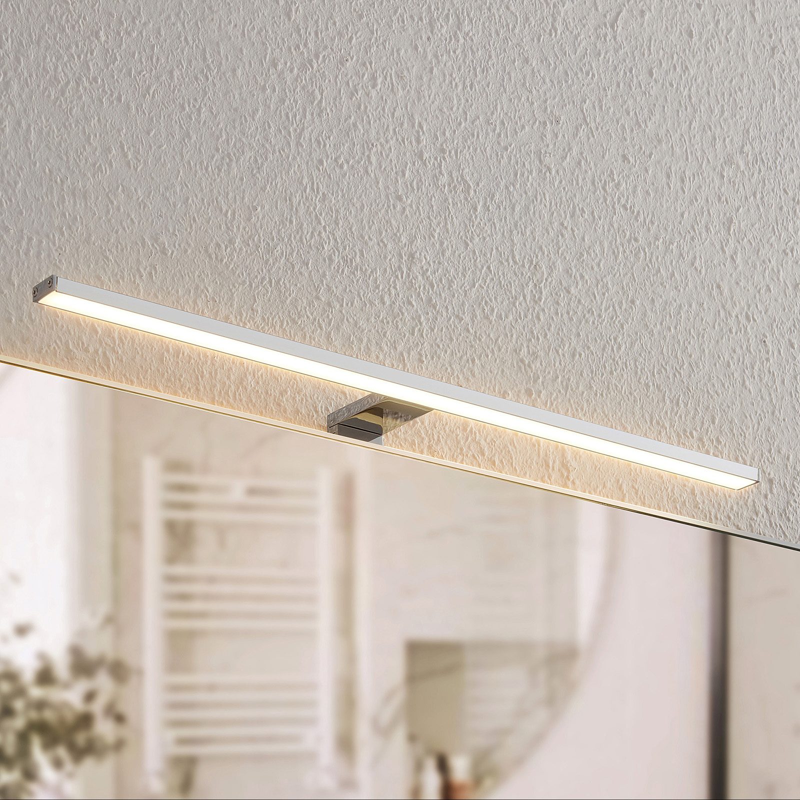 Lindby Daitani oświetlenie lustra LED, 60,5 cm