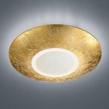 Plafoniera Chiros LED tondo color oro