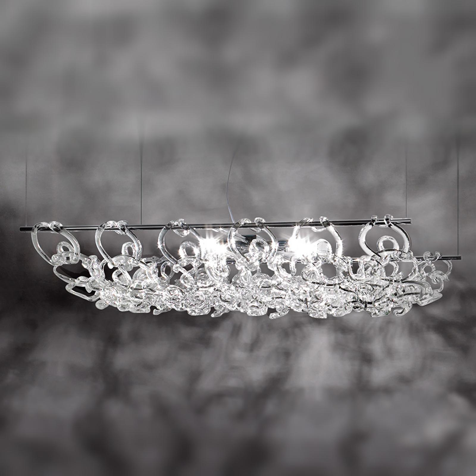 Lampa wisząca Giogali długość 90 cm