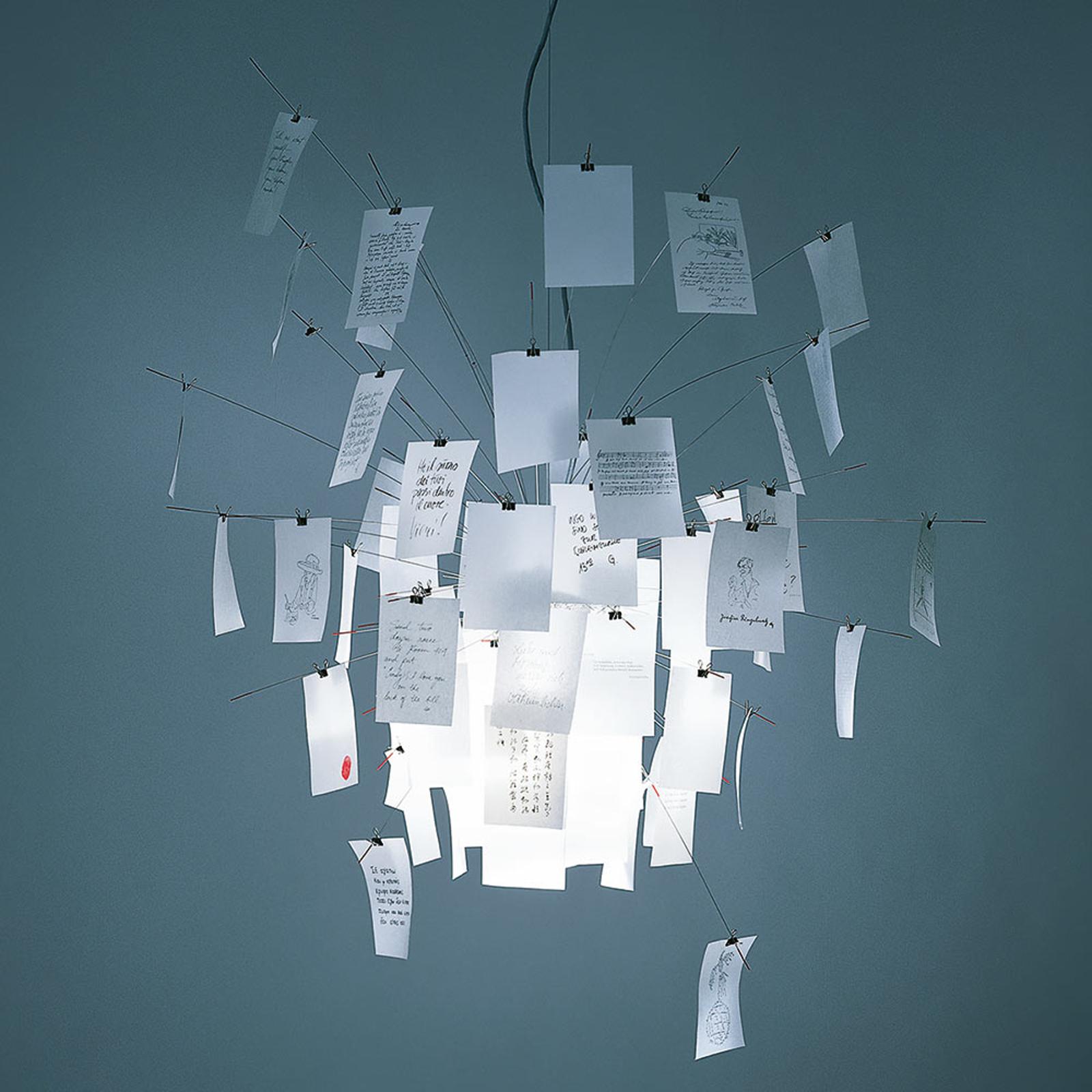 Indywidualizowana lampa wisząca Zettel'z 6