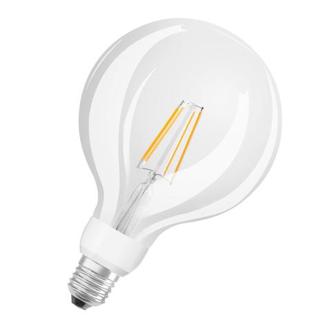 OSRAM lampadina LED globe E27 7W G125 827 Glow dim